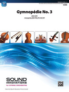 Cover icon of Gymnopedie No. 3 sheet music for string orchestra (full score) by Erik Satie and Bob Phillips