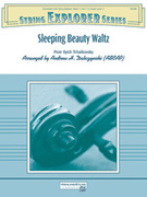 Cover icon of Sleeping Beauty Waltz sheet music for string orchestra (full score) by Pyotr Ilyich Tchaikovsky, Pyotr Ilyich Tchaikovsky, Pyotr Ilyich Tchaikovsky and Andrew H. Dabczynski