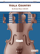 Cover icon of Viola Country sheet music for string orchestra (full score) by Richard Meyer, easy skill level