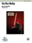 Cover icon of Star Wars Medley (COMPLETE) sheet music for percussions by John Williams and Eric Kalver