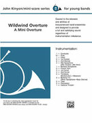 Cover icon of Wildwind Overture sheet music for concert band (full score) by John Kinyon