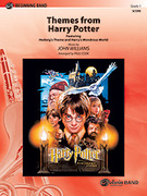 Cover icon of Harry Potter, Themes from sheet music for concert band (full score) by John Williams and Paul Cook