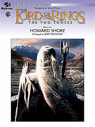 Cover icon of The Lord of the Rings sheet music for concert band (full score) by Howard Shore and Jerry Brubaker, intermediate