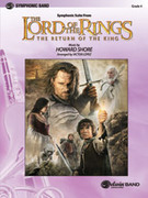 Cover icon of The Lord of the Rings sheet music for concert band (full score) by Howard Shore and Victor Lopez