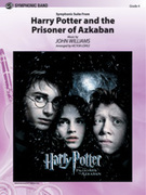 Cover icon of Harry Potter and the Prisoner of Azkaban, Symphonic Suite from sheet music for concert band (full score) by John Williams, intermediate
