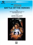 Cover icon of The Battle of the Heroes sheet music for concert band (full score) by John Williams and Jack Bullock