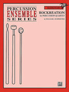 Cover icon of Rockreation sheet music for percussions (full score) by William J. Schinstine, easy/intermediate skill level