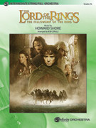 Cover icon of The Lord of the Rings sheet music for full orchestra (full score) by Howard Shore and Bob Cerulli, easy/intermediate orchestra