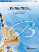Cover icon of Star Wars Medley (COMPLETE) sheet music for concert band by John Williams and John Tatgenhorst