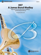 Cover icon of 007 -- A James Bond Medley sheet music for concert band (full score) by Marty Gold
