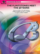 Cover icon of The Flintstones Meet the Jetsons (COMPLETE) sheet music for concert band by Anonymous, beginner
