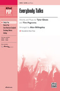 Cover icon of Everybody Talks sheet music for choir (SATB) by Tyler Glenn, Tim Pagnotta, Neon Trees and Alan Billingsley, intermediate choir (SATB)