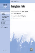 Cover icon of Everybody Talks sheet music for choir (SSAB) by Tyler Glenn, Tim Pagnotta, Neon Trees and Alan Billingsley