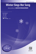 Cover icon of Winter Sings Her Song sheet music for choir (SSA: soprano, alto) by David Waggoner, intermediate