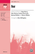 Cover icon of Roar sheet music for choir (SATB) by Katy Perry, Max Martin, Lukasz Gottwald, Bonnie McKee and Henry Walter