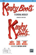 Cover icon of Kinky Boots: A Choral Medley sheet music for choir (SAB: soprano, alto, bass) by Cynthia Lauper, intermediate