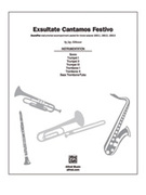Cover icon of Exsultate Cantamos Festivo sheet music for choir (full score) by Jay Althouse, intermediate