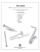 Cover icon of The Letter sheet music for choir (full score) by Wayne Carson Thompson and Jay Althouse, intermediate skill level