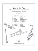 Cover icon of Land of the Free sheet music for choir (full score) by Michael Souders and Angela Souders