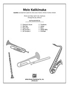 Cover icon of Mele Kalikimaka sheet music for choir (full score) by R. Alex Anderson