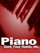 Cover icon of Misty sheet music for piano four hands by Erroll Garner and John Burke