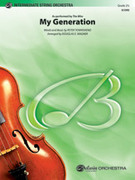 Cover icon of My Generation sheet music for string orchestra (full score) by Pete Townshend, Pete Townshend, The Who and Douglas E. Wagner