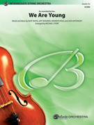 Cover icon of We Are Young sheet music for string orchestra (full score) by Nate Ruess, Jeff Bhasker, Andrew Dost, Jack Antonoff and fun.
