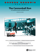 Cover icon of The Cannonball Run sheet music for jazz band (full score) by Gordon Goodwin