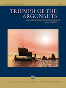 Cover icon of Triumph of the Argonauts (COMPLETE) sheet music for concert band by Robert Sheldon