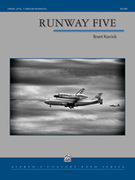 Cover icon of Runway Five sheet music for concert band (full score) by Brant Karrick