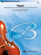 Cover icon of Pippin sheet music for string orchestra (full score) by Stephen Schwartz and Andrew H. Dabczynski