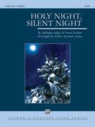 Cover icon of Holy Night, Silent Night sheet music for concert band (full score) by Adolphe Adam and Franz Gruber, intermediate skill level