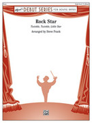Cover icon of Rock Star sheet music for concert band (full score) by Anonymous and Steve Frank, intermediate