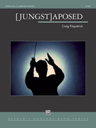 Cover icon of [Jungst]aposed sheet music for concert band (full score) by Craig Fitzpatrick