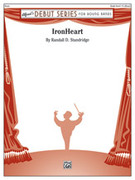 Cover icon of IronHeart sheet music for concert band (full score) by Randall D. Standridge