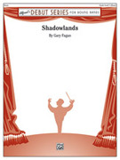 Cover icon of Shadowlands sheet music for concert band (full score) by Gary Fagan, intermediate concert band (full score)