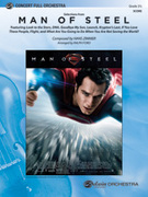 Cover icon of Man of Steel, Selections from sheet music for full orchestra (full score) by Hanz Zimmer and Ralph Ford