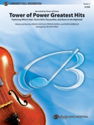 Cover icon of Tower of Power Greatest Hits sheet music for full orchestra (full score) by Emilio Castillo, intermediate