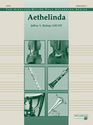 Cover icon of Aethelinda sheet music for full orchestra (full score) by Jeffrey S. Bishop