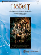 Cover icon of Suite from The Hobbit sheet music for full orchestra (full score) by Howard Shore and Victor Lopez