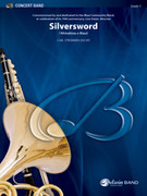 Cover icon of Silversword sheet music for concert band (full score) by Carl Strommen