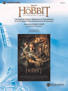 Cover icon of The Hobbit: The Desolation of Smaug, Suite from (COMPLETE) sheet music for concert band by Howard Shore, intermediate
