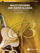 Cover icon of Waltz for Band and Water Glasses sheet music for concert band (full score) by Johann Strauss and Michael Story