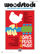 Cover icon of Woodstock sheet music for piano, voice or other instruments by Joni Mitchell and Crosby, Stills, Nash and Young