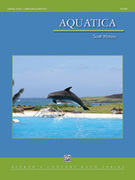 Cover icon of Aquatica (COMPLETE) sheet music for concert band by Scott Watson, intermediate concert band