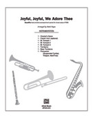 Cover icon of Joyful, Joyful, We Adore Thee sheet music for choir (full score) by Ludwig van Beethoven and Mark Hayes