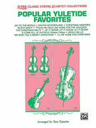 Cover icon of Popular Yuletide Favorites (COMPLETE) sheet music for string quartet by Anonymous and Tony Esposito