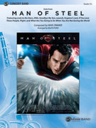 Cover icon of Man of Steel, Suite from sheet music for concert band (full score) by Hans Zimmer and Ralph Ford