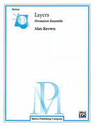Cover icon of Layers (COMPLETE) sheet music for percussions by Alan Keown