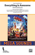 Cover icon of Everything Is Awesome sheet music for marching band (full score) by Shawn Patterson, Andy Samberg, Akiva Schaffer, Jorma Taccone, Joshua Bartholomew, Lisa Harriton and Ralph Ford